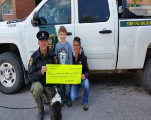 Special Thank you to a Crowsnest Pass Youth Birthday money donation.